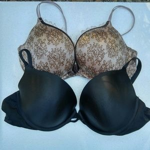 Bundle of 2 Victoria's Secret Bras 38DD